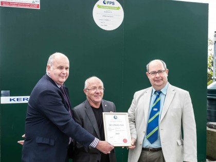 OTS TankCare fuels Oil4Wales FPS Fuel Accreditation first